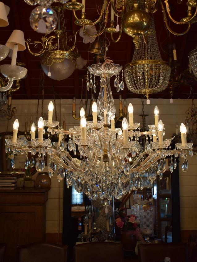 Kroonluchters kroonluchter collectie for Kristallen kroonluchter schoonmaken